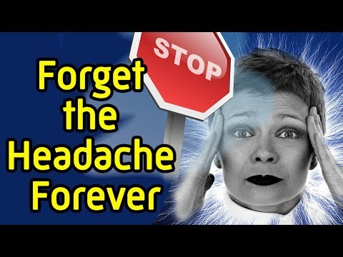 8 Ways to relieve a headache fast - How get rid of a headache without pills and medicine
