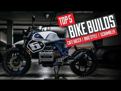 Top 5 Cafe Racer / Scrambler / Brat Style Builds
