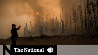 Apocalyptic scenes in B.C. wildfire zones