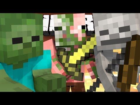 Minecraft NEW Minigame: ZOMBIE SIEGE! - w/Preston & Friends!