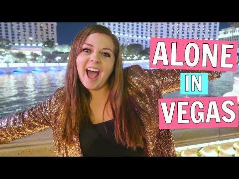 My Night Alone on the Las Vegas Strip!