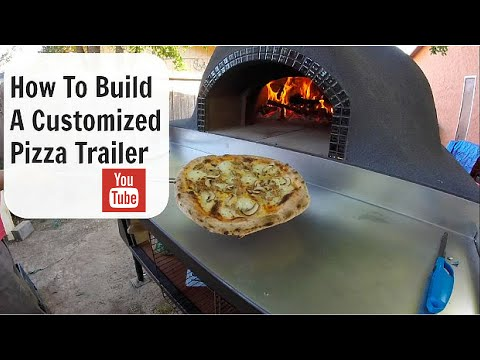 Our New Pizza Trailer (complete)