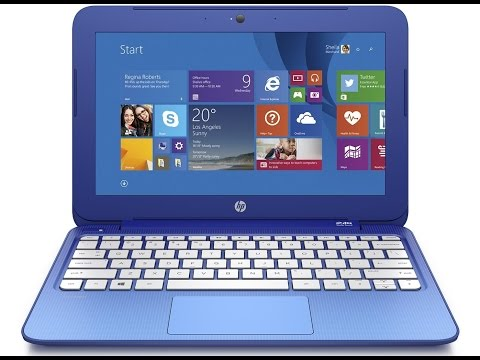 HP Stream 11 Horizon Blue Laptop Includes Microsoft Office 365 Personal For One Year