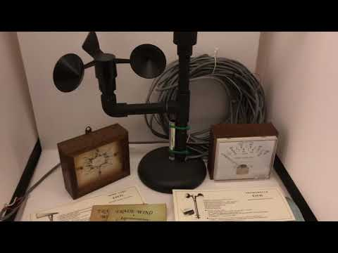 Trade Wind Instruments Wind vane & anemometer