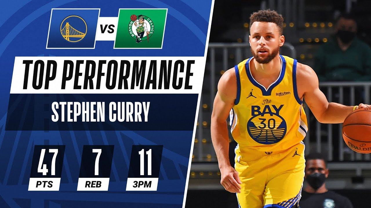Stephen Curry DROPS 47 PTS in Road Thriller!