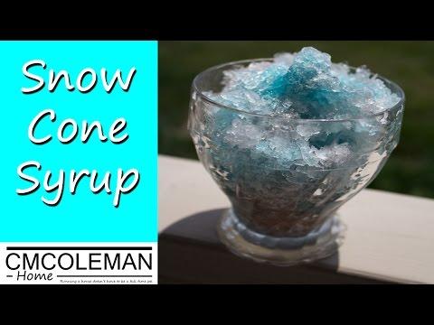 Snow Cone Syrup