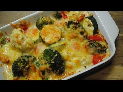 SUPER VEGGIE BAKE - Student Recipe