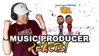 Music Producer Reacts to Joyner Lucas & Will Smith - Will (Remix)