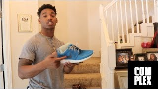 B LOU Shows Off The Most Expensive Shoes In The World on Complex Closets (PARODY)