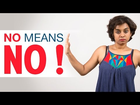 India Reacts   How to say no to sex?