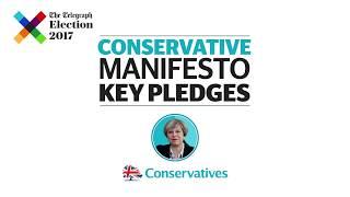 Conservative manifesto: key pledges