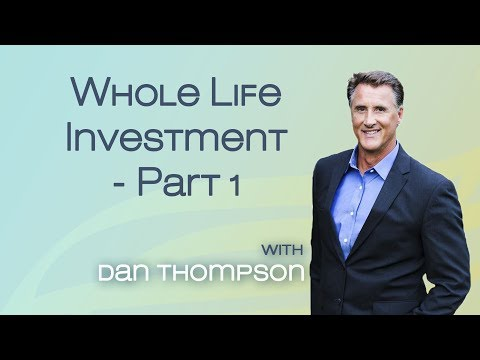 Safe Investing - Whole Life Insurance as an Investment - Part 1