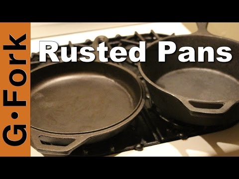 How to Season Rusted Cast Iron - GardenFork