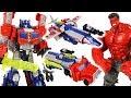 Marvel Red Hulk Is Angry Transformers Titan Return Optimus Prime Triple Change Go DuDuPopTOY