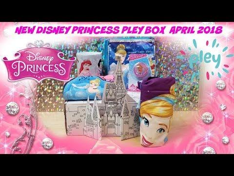 NEW DISNEY PLEY BOX CINDERELLA PRINCESS APRIL 2018 ~ KAWAII SQUISHIES ~