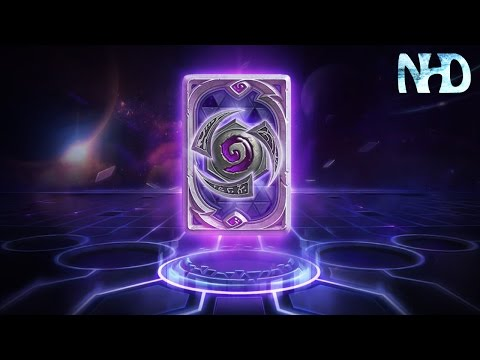 Hearthstone - Unlocking Heroes of the Storm Card Back