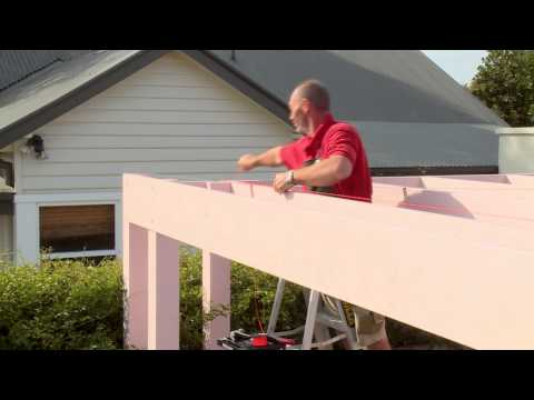 How To Install Battens On A Carport Roof - DIY At Bunnings