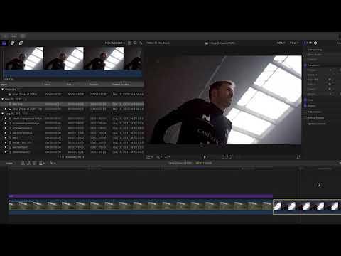 Drop Zones in Final Cut Pro X