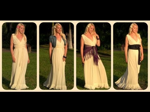 How to wear a maxi dress - style it from casual to formal