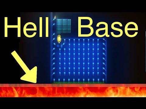The Blockheads: Hell Base Secrets (Walk on Fire)