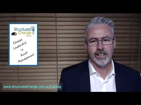 Change Leadership in Asset Management - One Day Training Course