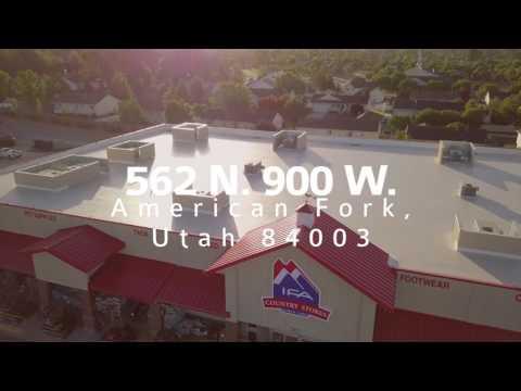 IFA Country Store • American Fork Location via DJI Mavic Pro 4K Drone
