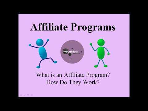 How an Affiliate Program Works