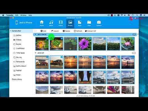 How to Transfer Photos  from iPhone to Mac Computer ?