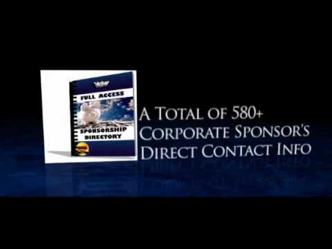 How to Get Sponsorship - Get Sponsored!