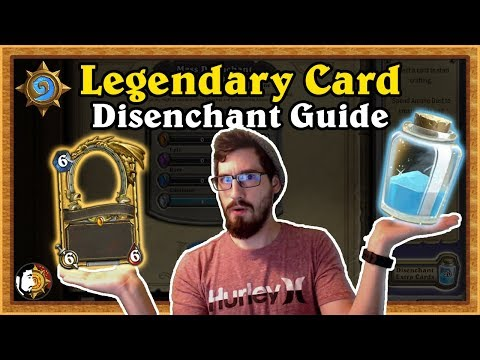Hearthstone: Legendary Card Disenchant Guide - The Witchwood Updated