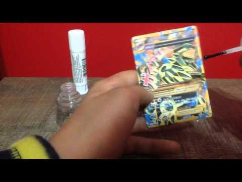 How to make a Pokemon card at home