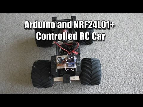RC Car Using Arduino and NRF24L01+
