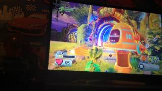 Messing around in plants vs zombies garden warfare 2