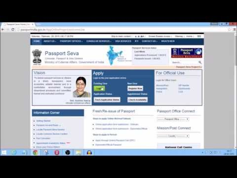 Passport Apply Online(Minors,Adults) Appointment Check ,Documents Required