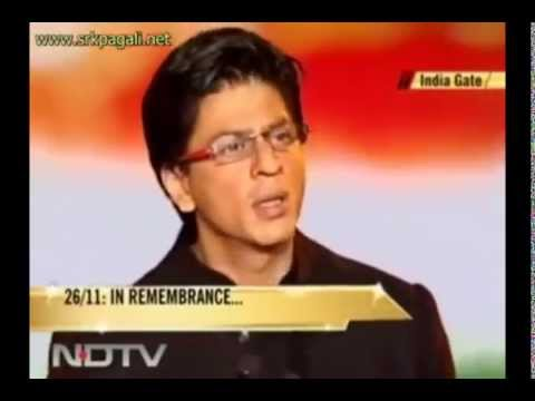 Must watch Speech by Shahrukh khan on Terrorism (@India Gate) just listen to him once.