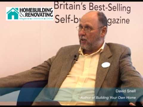 Getting started in self build: David Snell