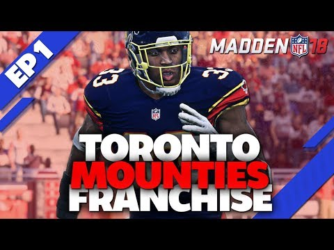 MADDEN 18 FRANCHISE MODE: RELOCATION of the NEW YORK JETS to TORONTO!