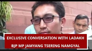 Download In exclusive conversation with Ladakh BJP MP Jamyang Tsering Namgyal Video