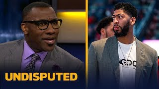 Anthony Davis has not 'failed' despite lack of playoff success — Shannon Sharpe   NBA   UNDISPUTED