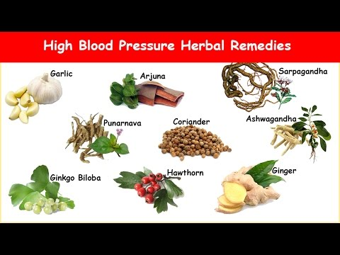 9 High Blood Pressure Herbs to Normalize Hypertension!