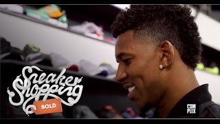 Nick Young Goes Sneaker Shopping With Complex