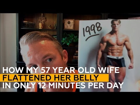 How My 57 Year Old Wife Flattened Her Belly In Only 12 Minutes Per Day!