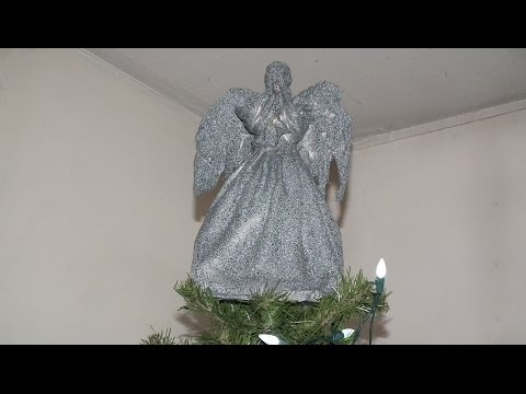 Weeping Angel Christmas tree topper Project