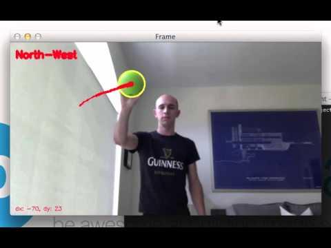 OpenCV Track Object Movement