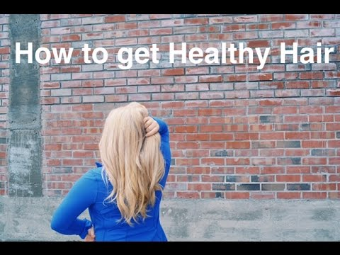 How to Keep Your Hair Long & Healthy (esp. after coloring)