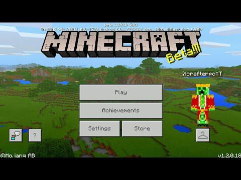 Minecraft PE 1.2 | MCPE 1.2 BETA BUILD 6 RELEASED!! + GAMEPLAY!! (Pocket Edition)