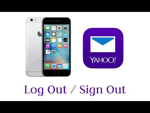 How to Log Out/Sign Out Yahoo Mail App on iPhone/iPad/iPod 2017