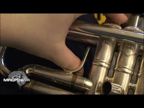 How to Disassemble & Clean a Trumpet - Mindpower009
