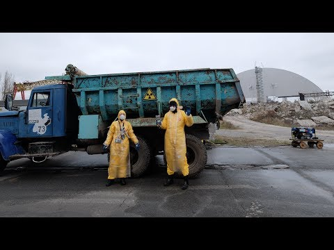 decontaminating Chernobyl - what to do with a radioactive truck?