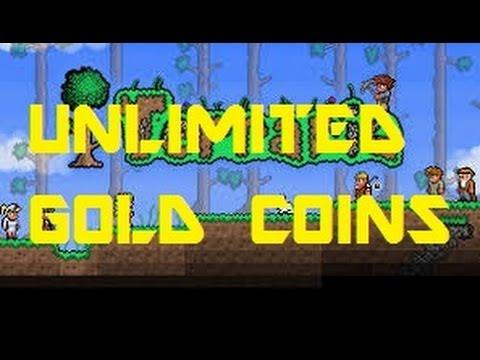 Terraria Unlimited Gold Coins Glitch